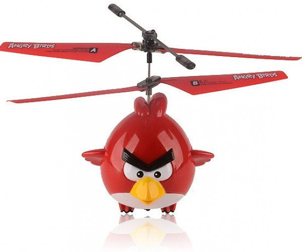 Angry Birds R/C Helicopter: No Catapult Required