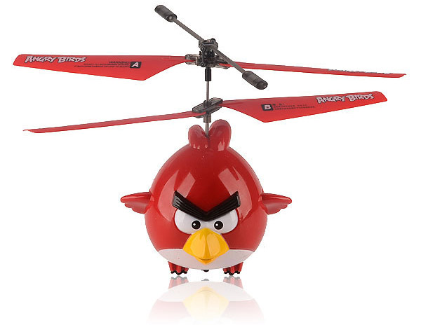 Cool Toy Helicopters : Angry birds r c helicopter no catapult required technabob