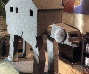 AT-AT Cat Condo Begs to Be Taken Down by a Ball of String