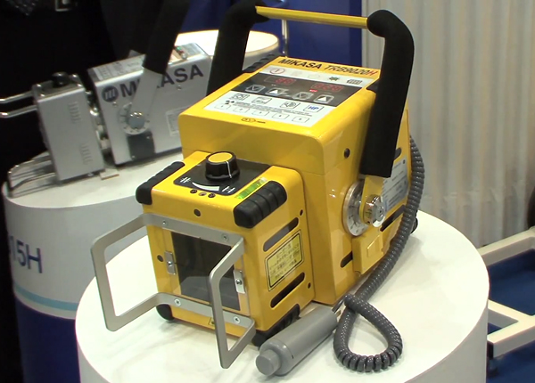 battery powered portable x-ray machine by mikasa