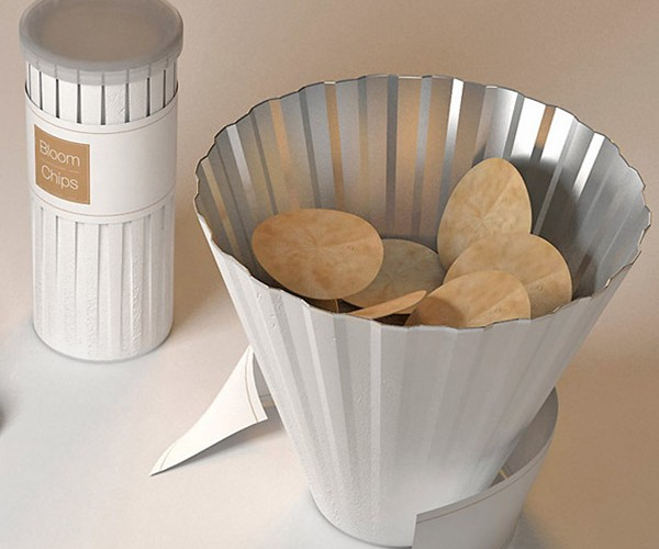 Bloom Chips Packaging Fixes the Pringles Can