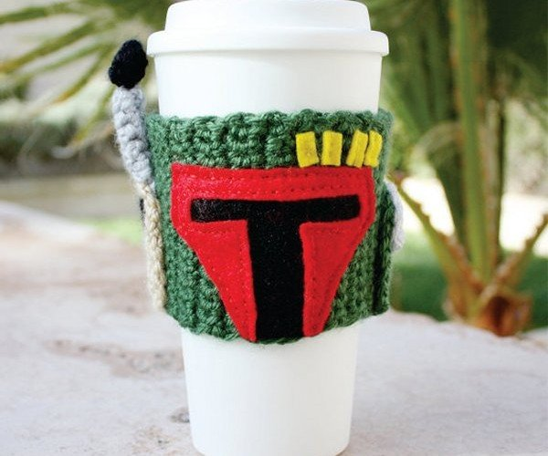 Boba Fett Coffee Cup Cozy: Double Tall Fett Latte, Please.