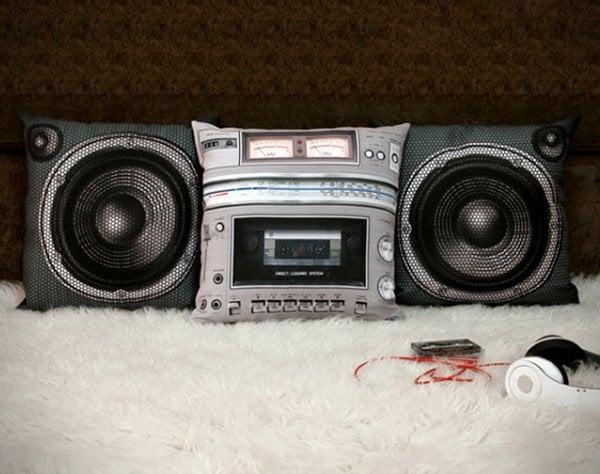 boombox pillow