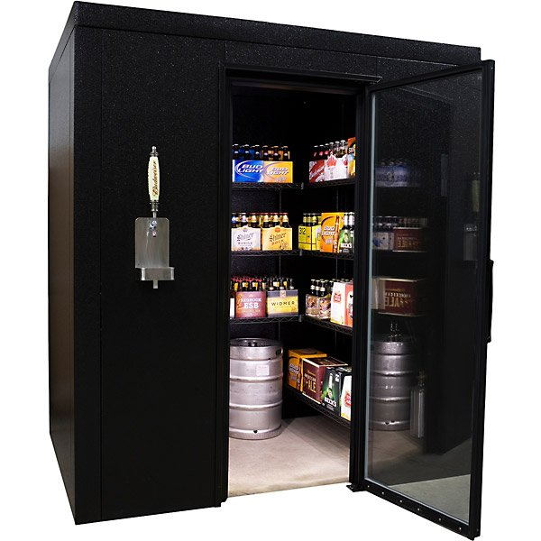 brewcave beer cooler kegerator 2