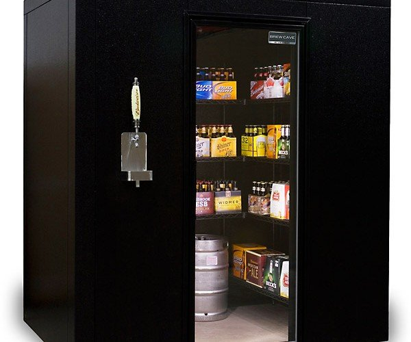 BrewCave Walk-in Cooler & Kegerator: The Beer Lover's Happy Place