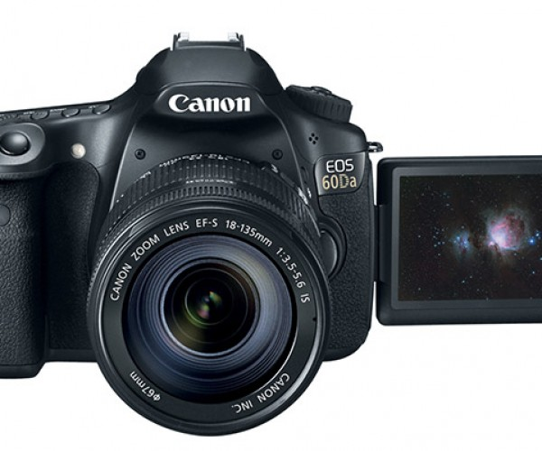 Canon Unveils EOS 60Da DSLR Specifically for Astronomers