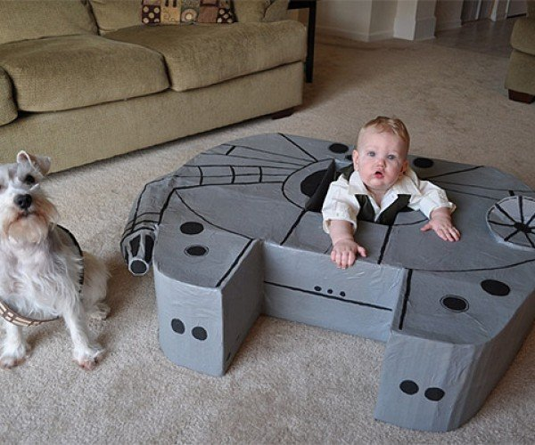 9 Month-Old Gets His Own Millennium Falcon
