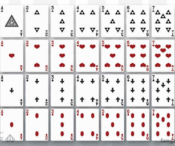 cards of legend playing cards 8