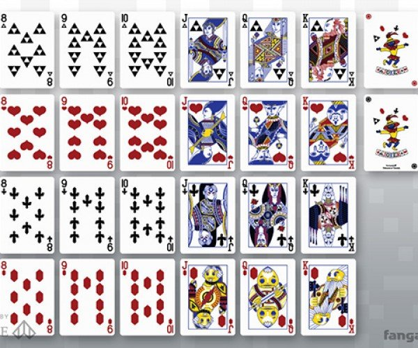 cards of legend playing cards 9