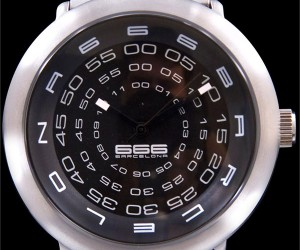 Concentric Watch Has More Digits than Your Watch Has