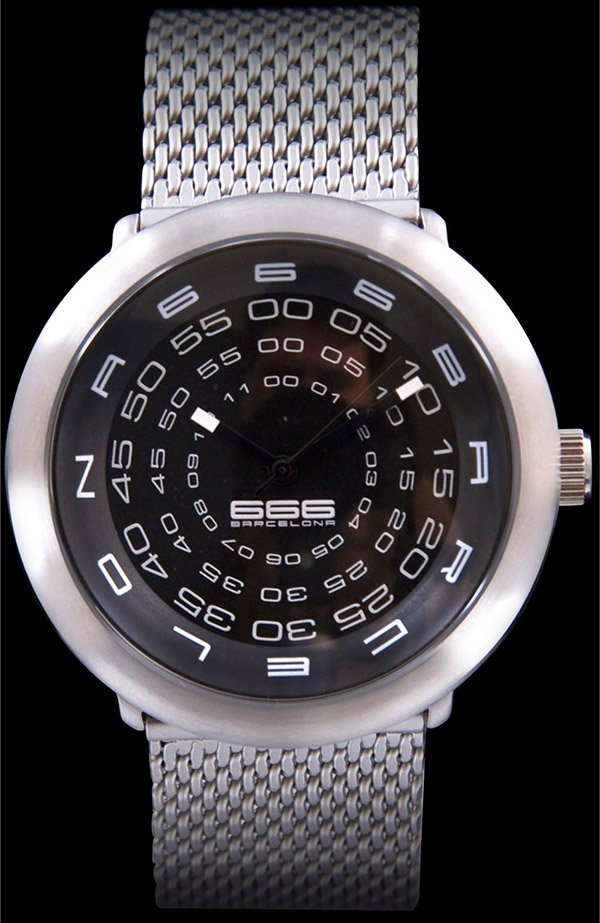 concentric mesh watch