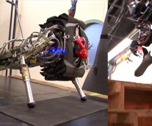 DARPA Robot Climbs Stairs Like a Boss, Another Does More Pushups Than I Can