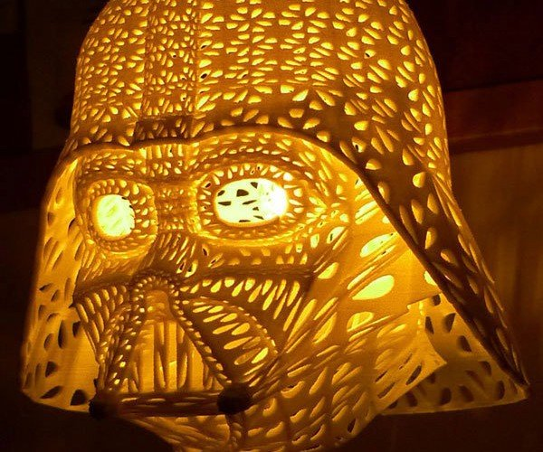 Darth Vader Table Lamp: The Light Side of the Dark Side