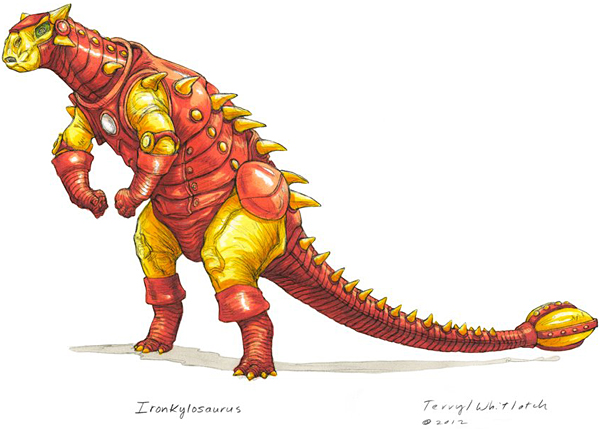 dino avengers by Teryll Whitlatch 4