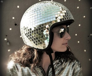 Disco Ball Motorcycle Helmet Might Not Keep You Stayin' Alive in a Crash