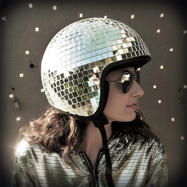 disco ball helmet 1