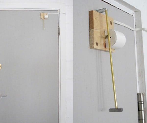 Self-Knocking Doorbell: Tech Imitates Arm