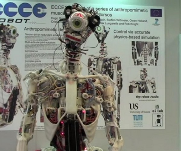 Eccerobot Looks Like a Robot Cyclops After an Acid Bath