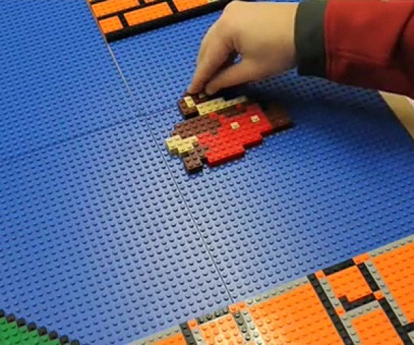 Man Wants to Build LEGO Replica of Super Mario Bros. Level 1-1, Needs More Coins to Complete It