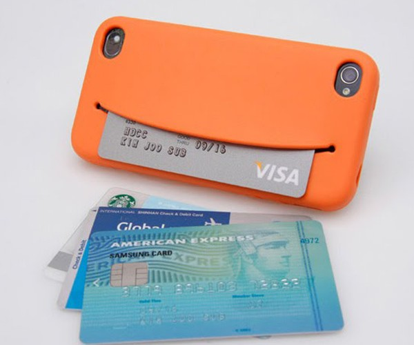 Feed Me iPhone 4/4S Case Chews on Credit Cards, Earphones, Money, Cookies…