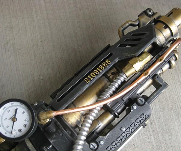 goliathon steampunk nerf gun by steampunk 101 3