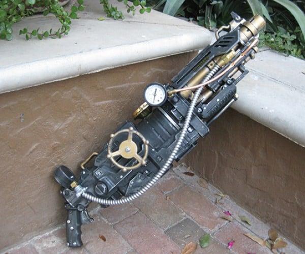 goliathon steampunk nerf gun by steampunk 101 5
