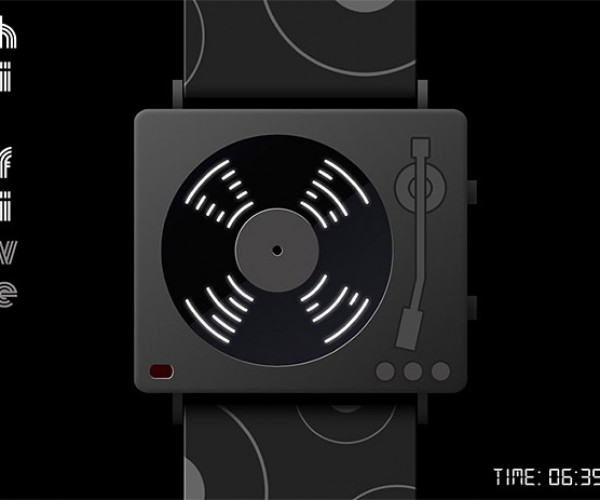 Hi-Five Turntable Watch: Put You Records on (Your Wrist)