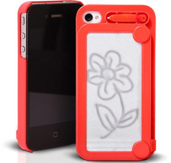 ifoolish iphone magna doodle case game