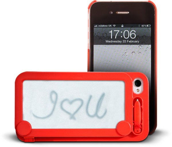 ifoolish iphone magna doodle case
