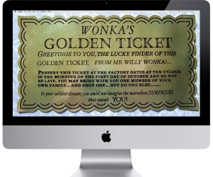 Steve Jobs Wanted to Do a Willy Wonka Style Millionth iMac Contest