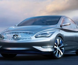 Infiniti LE Concept Is Like the Nissan Leaf Seen through Beer Goggles