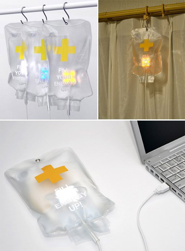 led iv drip bag 1