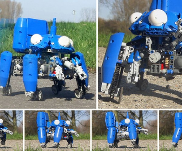 LEGO Tachikoma Can Be Official, but It Needs More Than Eleven Individuals to Vote for It
