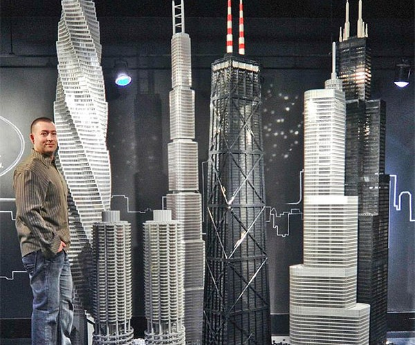 Guy Builds 15 Massive LEGO Landmarks