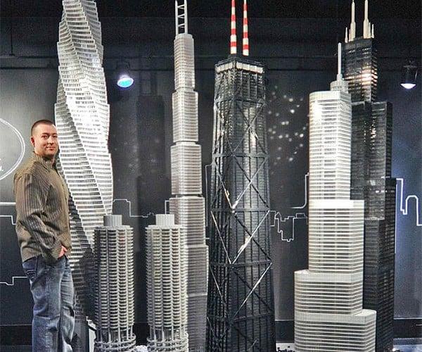 Guy Builds 15 Massive LEGO Landmarks