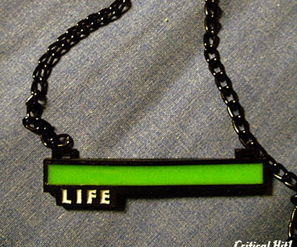 Life Bar Necklace: Don't Let Your Enemies See It