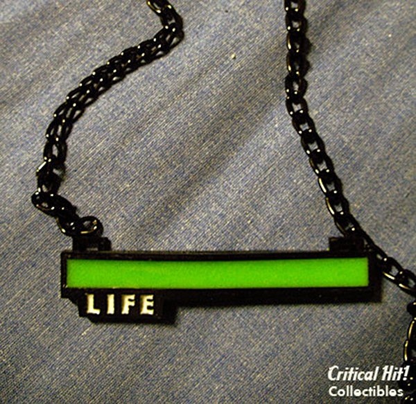 life bar necklace by critical hit collectibles