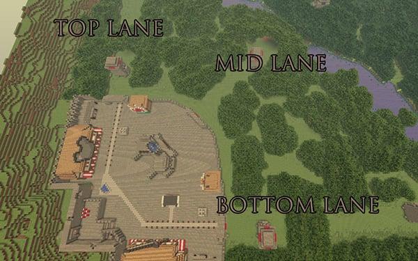 карта доты для minecraft #3