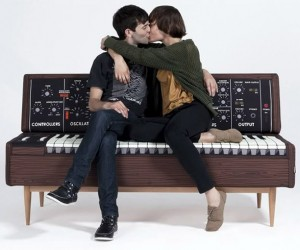 MiniMoog Synth Sofa Doesn't Oscillate When You Sit on It