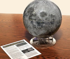 Photographic Moon Globe is out of This World