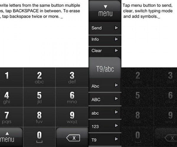 MultiTap Text Brings Back Numeric Keypad, Lets You Text Without Looking Once Again