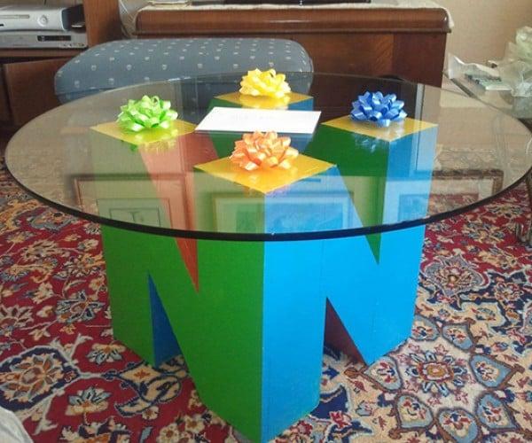 nintendo 64 n64 coffee table by keenan bosworth 8