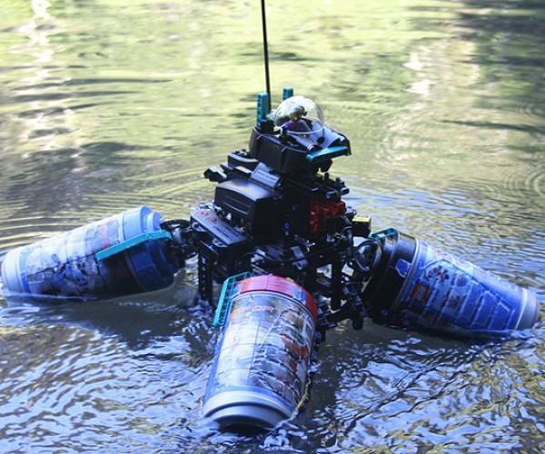 LEGO Omniboat Proves Bricks Can Float