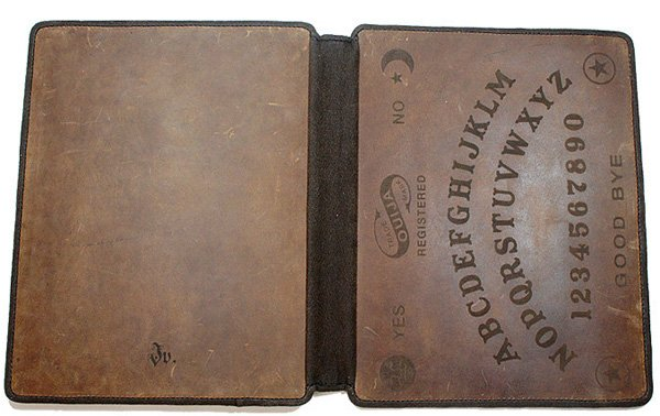 ouija board leather ipad sleeve case joevleather etsy