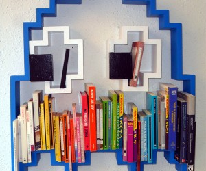 Pac-Man Bookshelf: Get Schooled by a Ghost