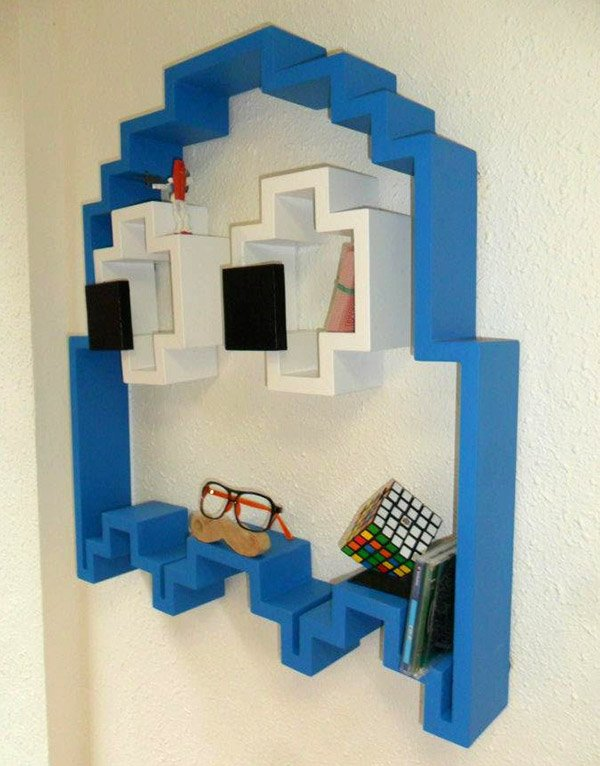 pac man bookshelf 2