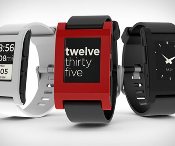 Pebble E-Paper Smartwatch: iOS and Android Goodness