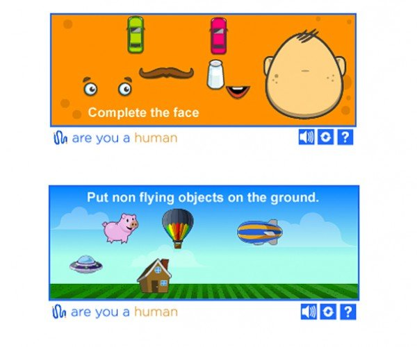 PlayThru CAPTCHA Alternative: Achievement Unlocked: You're a Human!