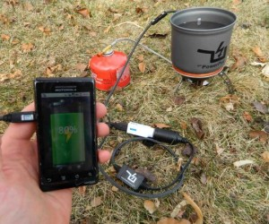 PowerPot Thermoelectric Generator Charges your Gadgets Using Fire