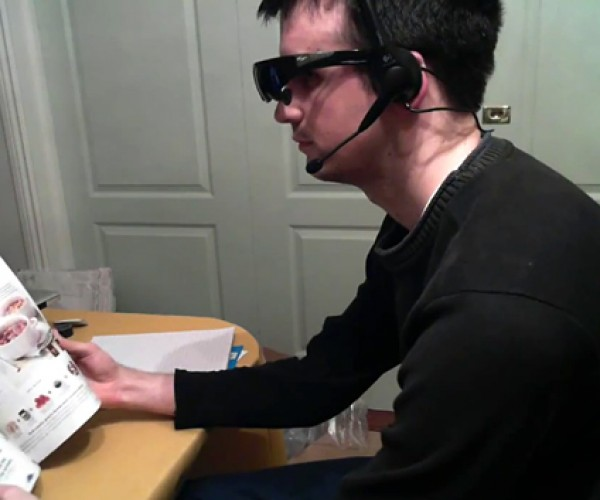 Google's Project Glass Made Real by One Man, Looks Even Dorkier